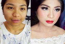 WeddingPackages By WINONA (Klien: Kristy) by Winona Makeup & Bridal