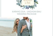 AMAZING WEDDING PACKAGE WITH OCEAN VIEW by Let's Get Married in Bali