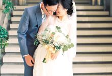 Karina & Dimas Wedding Reception by MERCANTILE PENTHOUSE WEDDING