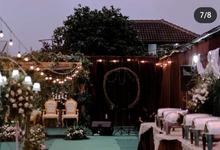 Dekorasi Outdoor by Karina Weddings