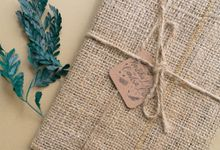 Wedding Invitation - Classic Wood Rustic by Kanoo Paper & Gift