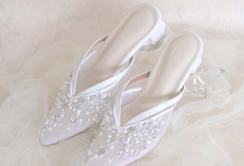 White for Bridal Shoes by Kasa The Label