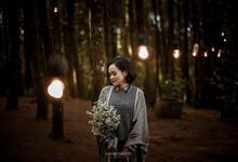 The prewedding of Astari & Andhika by Katakita photography