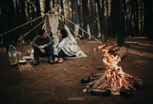 The prewedding of Astari & Andhika by Katakitaphoto