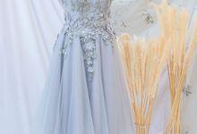 gaun pendek for rent by Cintami Meidina Fashion Designer
