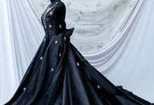 evening gown for rent 2 by Cintami Meidina Fashion Designer