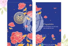 Personalized Wedding Angpao by Piece Of Paper