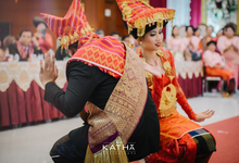 The one with dancings, singings and blessings by Katha Photography