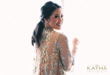 Romantic Engagement of Inda & Rino by Katha Photography