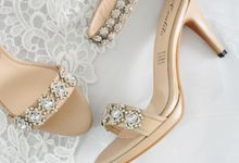 Kathia Wedding Shoes by Evaldo Bridal Shoes