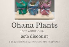 Additional discount 20% by Ohana Plants