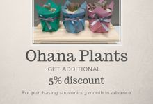 Additional discount by Ohana Plants