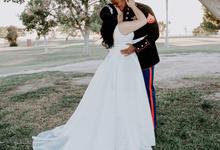 Marine Corps Wedding  by Kayla Mattox Photography