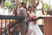 The Wedding of Ajeng & Grik by Kayu Kayu Restaurant