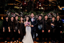 The Wedding of Steven & Riany by Kayu Kayu Restaurant