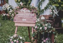 A romantic rustic wedding of Cui Yan Tao & Tang Yaw Bin by Silverdust Decoration