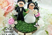 Purwadi & Karina Rustic Wedding Ring Pillow by KadoCraft