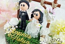 Stevanus & Listya Wedding Ring Pillow Ring Box by KadoCraft
