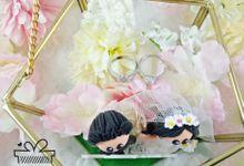 Flower Terrarium Ring Box by KadoCraft