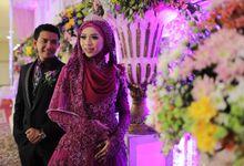 Kebaya Resepsi Muslimah - Nurayu & Husein by LAKSMI 0817 0370 7670 by LAKSMI - Kebaya Muslimah & Islamic Bride