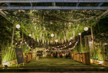 Wedding outdoor by keiffa decoration by Keiffa Decoration