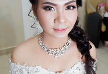 Wedding Reception by Ken Make Up & Hairdo
