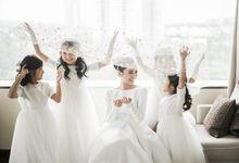 Kenneth & Novi Wedding by ANTHEIA PHOTOGRAPHY