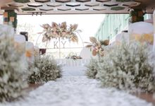 Intimate Wedding Decor - Kevin & Yaling by Blessing Decoration