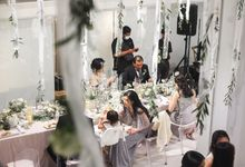Kevin & Cindy Intimate Wedding Dinner by Surabe Catering