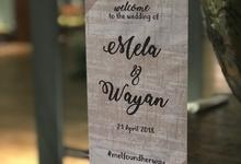 Wayan & Mela Wedding by KEYS Entertainment