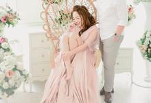 a love story of Glenn & Sessy (Prewedding Session Indoor) by Khayim Beshafa One Stop Wedding