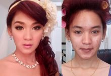 Before After by Meicen Professional Makeup Artist
