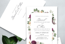 Daniel & Ellois by Kiaora Invitation