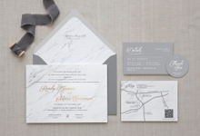 Marble Theme Collections by Kiaora Invitation