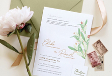 Chiko & Randi Engagement by Kiaora Invitation