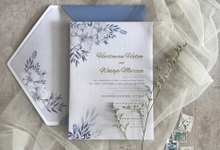 Hartawan & Weivya Invites by Kiaora Invitation