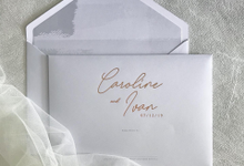 Caroline and Ivan 0 7 . 1 2 . 1 9 by Kiaora Invitation