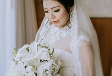 Wedding of Alfred & Raissa [ Custom Gown in Bali ] by Kings Bridal & Tailor