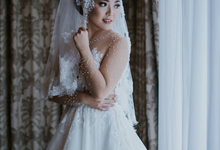 Custom Weding Gown for Fay by Kings Bridal & Tailor
