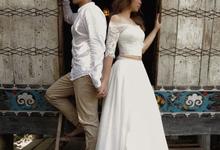Prewedding in Bali by Kings Bridal & Tailor