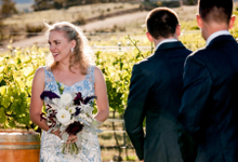 Wedding in Australia by Kings Bridal & Tailor