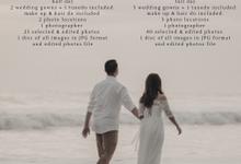 Prewedding package by Kings Bridal & Tailor