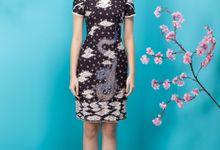 Angela Chung Heritage: Cheongsam Batik Tulis by Angela Chung Design