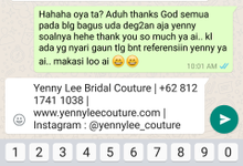 Testimonial by Yenny Lee Bridal Couture