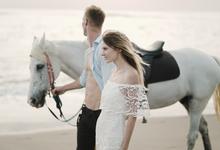 Anton & Sveta post wedd by Klik Studio