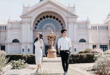 Melbourne pre-wedding Edgar + Jennifer by Klik Studio