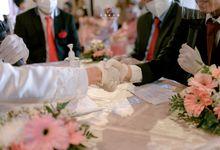 The Intimate Wedding Of Saras & Iqbal by Armadani Organizer