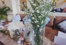 Table Decoration - Soft Rustic by Wonder Wheel Project