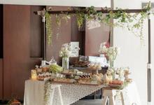 Adiguna & Silvia Holy Matrimony Dessert Table by K.pastries