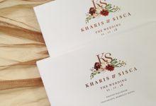 Kharis & Sisca by Gracia The Invitation